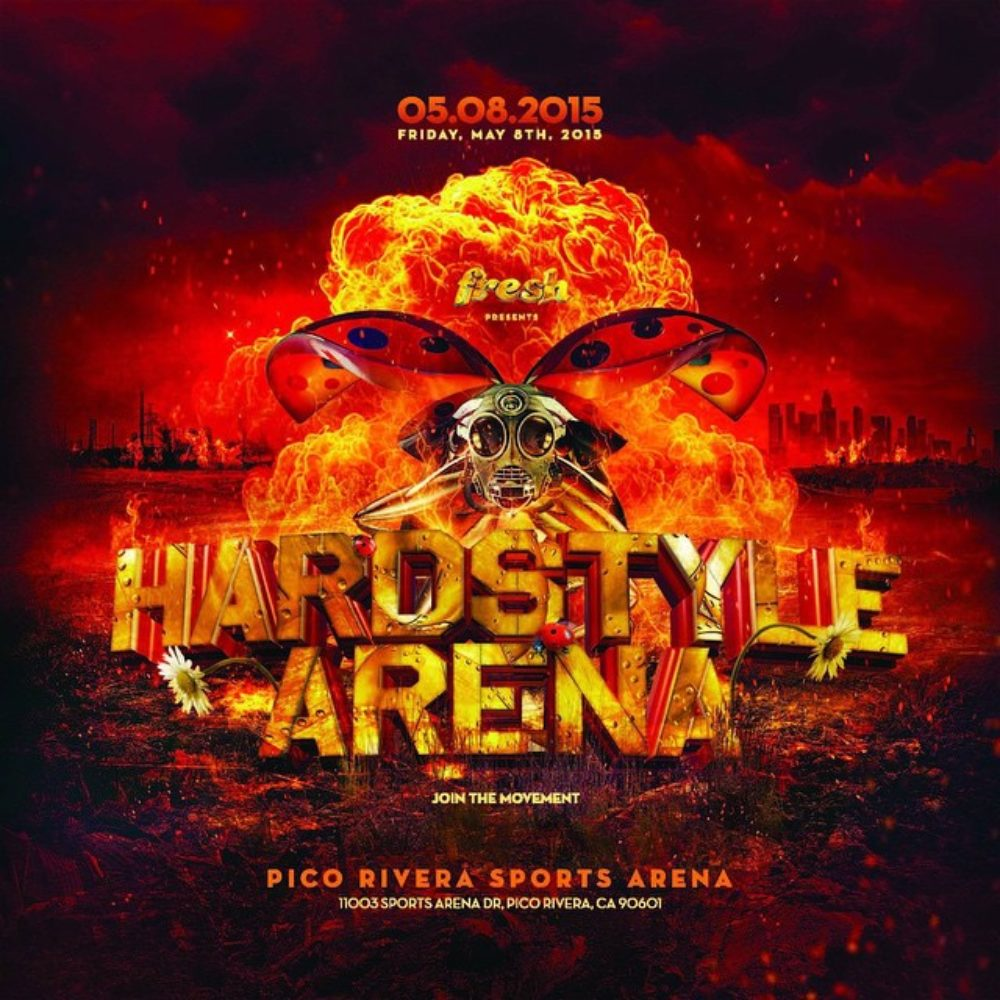 Hardstyle Arena Timeslots Released!